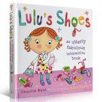 顺丰发货 英文原版 Lulu's Shoes 露露的鞋子 精装故事图画 触摸书操作书 露露 Lulus系列 幼儿启蒙认
