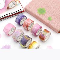 日式樱花和纸胶带手帐装饰素材文艺花瓣DIY手账贴纸