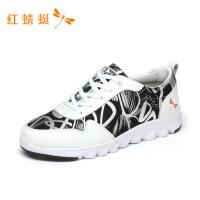 红蜻蜓男鞋新款休闲经典运动小白鞋潮流百搭板鞋舒适运动鞋-
