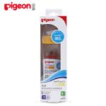 """贝亲Pigeon""""自然实感""""宽口径玻璃奶瓶240ml配L奶嘴(黄色旋盖/ L size)"""