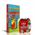 顺丰发货 英文原版绘本 Richard Scarry I am a bunny 我是一只小兔子 Cars and Tr