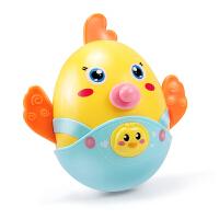 婴儿玩具摇铃安抚牙胶个月宝宝早教益智洗澡大陆塑料不倒翁 牙胶不倒翁 安全可咬