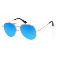 户外儿童太阳镜蛤蟆镜男童女童太阳眼镜 经典彩膜墨镜潮