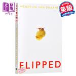 Flipped 怦然心动英文原版小说 英文原版书(韩寒推荐电影《怦然心动》同名原著  你,从未忘记你的