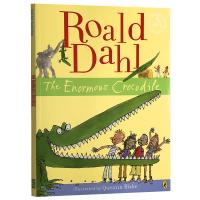 巨大的鳄鱼 英文原版 The Enormous Crocodile 罗尔德达尔 Roald Dahl 儿童全英文版进口