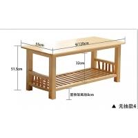 实木茶几简约现代边几咖啡桌实木家具松木茶几客厅迷你小桌子 组装