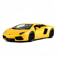 仿真回力汽车模型儿童玩具车男孩车模威利welly1:36兰博基尼合金