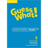 Guess What! Level 2 Presentation Plus British English