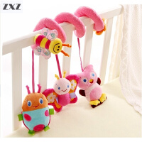 新生儿床铃床挂饰 婴儿推车挂件宝宝车夹玩具0-1岁 摇铃音乐床铃