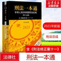 刑法一本通(中华人民共和国刑法总成第十五版2021) 李立众 第十五版 刑法修正案十一 刑法典2021新版中华人民共和国