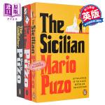 【中商原版】教父三部曲 英文原版the Godfather/Sicilian/Sicilian3本合集