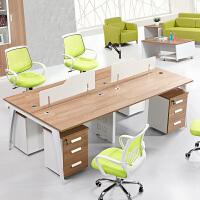 办公家具员工位四人办公桌椅屏风人工作位职员桌人位办公桌卡座