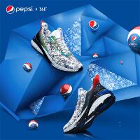 【361度开学季 低价直降】【雨屏涂鸦-百事联名】361男鞋运动鞋2020春季新款休闲防泼水跑鞋