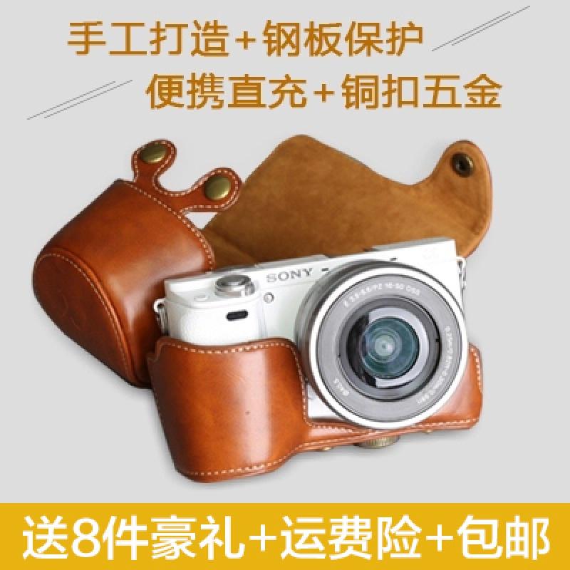 索尼相机包 a6000 a5000 a5100 a6300单反微单单肩可爱皮套保护套 a5000/a5100 浅棕色 发货周期:一般在付款后2-90天左右发货,具体发货时间请以与客服协商的时间为准