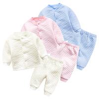 婴宝宝衣服儿童套装01岁5个月新生儿春款季衣服冬装外出服