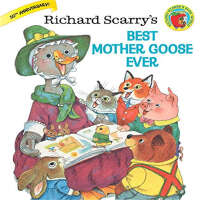 【英文原版】Richard Scarry's Best Mother Goose Ever 金色斯凯瑞-最好的鹅妈妈童