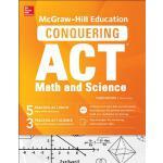 【预订】McGraw-Hill Education Conquering the ACT Math and Scien