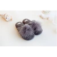 男女冬季棉鞋棉拖鞋厚底毛绒包跟保暖棉鞋月子鞋家居拖妈妈拖鞋