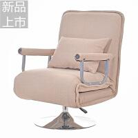 办公室可折叠沙发床两用单人午休椅多功能家用午睡床布艺折叠躺椅定制