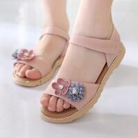 女童凉鞋夏季童鞋公主鞋宝宝鞋儿童沙滩鞋中大童学生凉鞋