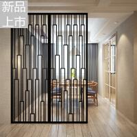 中式简约铁艺隔断客厅玄关屏风欧式创意时尚镂空雕花工业风可定做定制