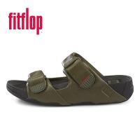【新品】Fitflop BANDO LEATHER SANDALS B16-091 进口正品 减压健身男款春夏真皮拖鞋