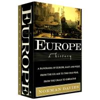 现货正版 欧洲史 英文原版 Europe A History 欧洲的历史 英文版世界史书 诺曼戴维斯 进口英语书籍 欧罗