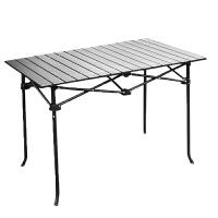 户外叠桌休闲餐桌野餐自驾游车载沙滩钓鱼桌便携式铝合金桌子