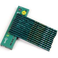 中华绘图铅笔 小学生铅笔H 2H HB 2B 3B 4B 5B 6B素描考试铅笔 绘图木制考试画图