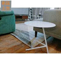 北欧家具铁艺现代简约边几角几小桌子创意茶几定制