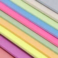 8K 10张混色 颜色随机发货哦16K 吹塑板 吹塑纸 手工绘画板 版画绘画材料 8K塑料板 吹塑纸 手工纸