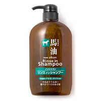 熊野油脂(KUMANO)马油洗发水护发素二合一柔顺洗发露600ml