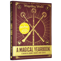哈利波特魔法年鉴 英文原版 Harry Potter A Magical Yearbook 魔法世界设定集 JK罗琳 精