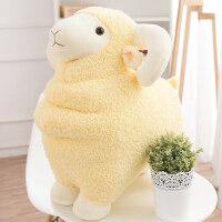可爱小绵羊公仔布偶娃娃毛绒玩具羊抱枕送女孩抱着睡觉韩国玩偶萌