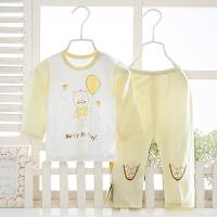 夏季儿童睡衣宝宝薄款衣服套装卡通空调服竹纤维睡衣