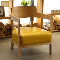 北欧咖啡厅沙发休闲甜品饮品奶茶店洽谈卡座实木桌椅组合清新简约 官方标配