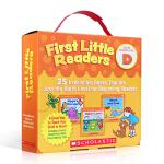 顺丰发货 英文原版 儿童绘本 First Little Readers D 25册小读者系列家长阅读指导小套装 儿童启