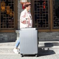 大容量行李箱女出国拉杆箱特大密码箱托运超大旅行箱30寸32寸大箱 银色 银灰色