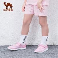 骆驼小童鞋网鞋2019新款儿童运动鞋男童魔术贴跑步鞋女中大童潮鞋