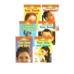 Science Vocabulary Readers Human Body 英文原版 学乐Scholastic 人体探