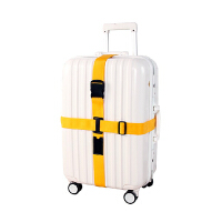 拉杆箱旅行箱行李箱捆箱带 十字打包带加厚 黄色
