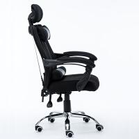家用电脑椅游戏竞技椅老板椅弓形电竞椅躺椅网吧赛车椅子 钢制脚 旋转升降扶手