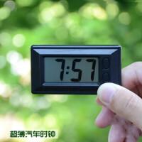 车载电子表数字显示 汽车时钟电子表车载电子时钟车用时间钟表液晶显示汽车用品