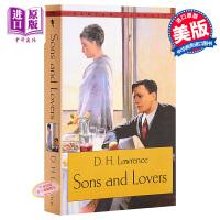 【中商原版】儿子与情人英文原版小说 英文版Sons and Lovers儿子和情人 劳伦斯D. H. Lawrence