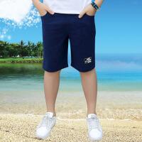 儿童短裤 男童薄款运动中裤子时尚夏季韩版休闲舒适中大童运动休闲五分裤