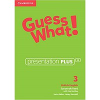 Guess What! Level 3 Presentation Plus British English