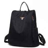 牛津布双肩包女士新款韩版尼龙防盗时尚百搭小背包休闲旅行包
