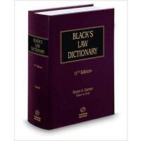 Black's Law Dictionary 11th ed 布莱克法律大词典