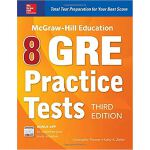 MCGRAW-HILL EDUCATION 8 GRE PRACTICE TESTS, 3E