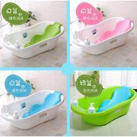 婴儿洗澡盆新生儿用品宝宝浴盆可坐躺通用大号小孩儿童沐浴桶